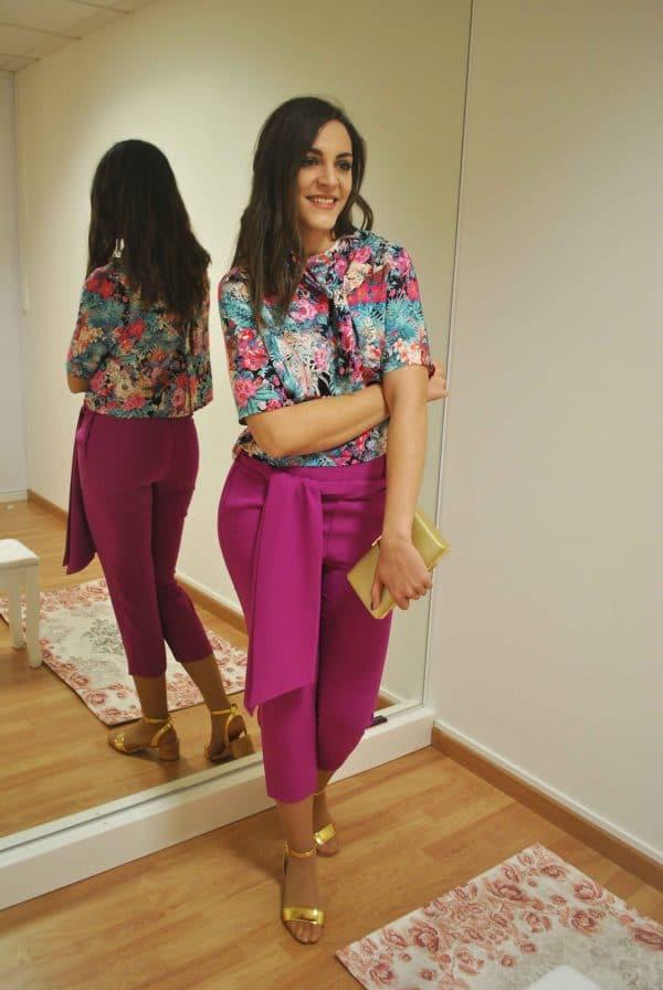 Conjunto pantalón y blusa 1