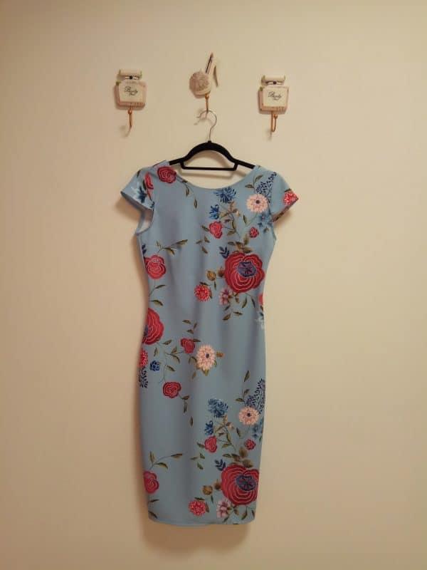 Vestido Estampado Japonés 1