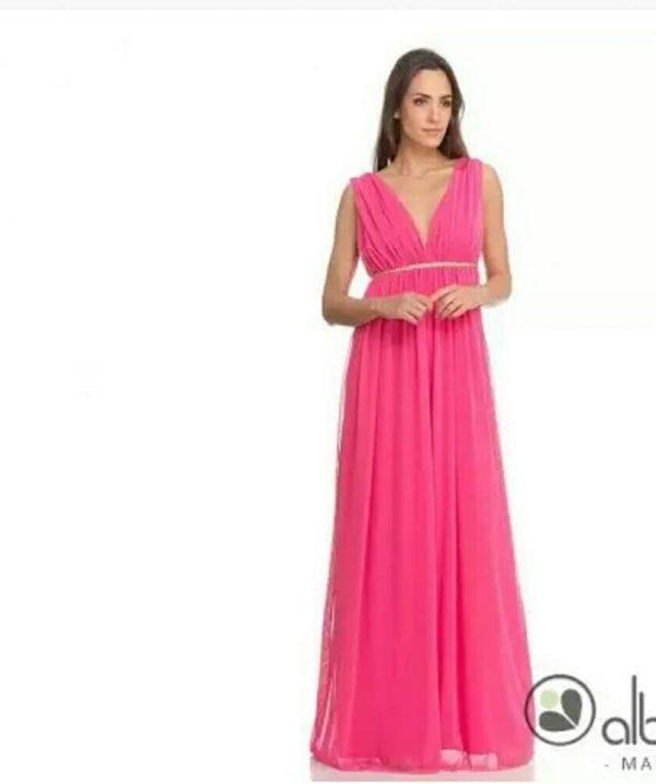 Vestido Tul Rosa 1